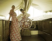 772286  The Bahamas: Girls on yacht
